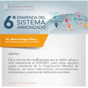6a Enmienda del Sistema Armonizado