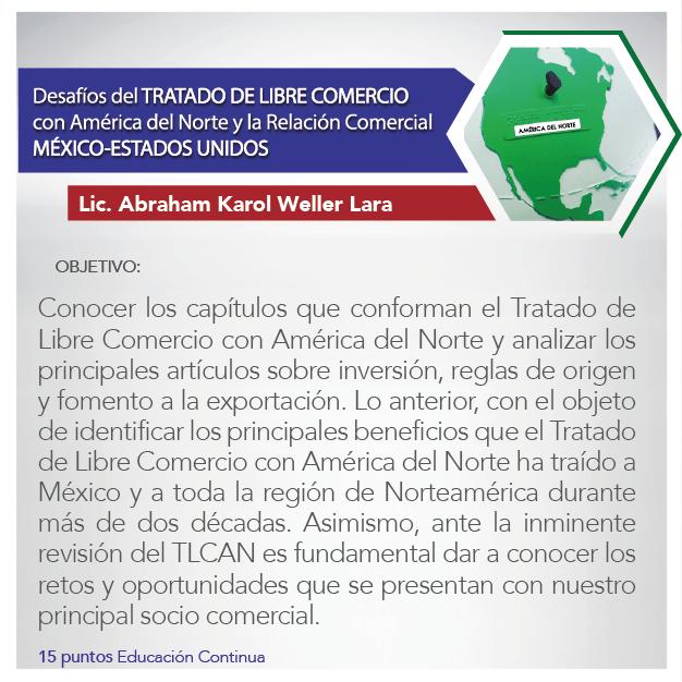 Desafíos del Tratado de Libre Comercio con América del Norte y la Relación Comercial México-Estados Unidos