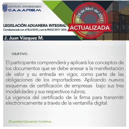 Legislación Aduanera Integral