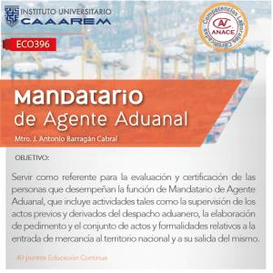 Mandatario de Agente Aduanal